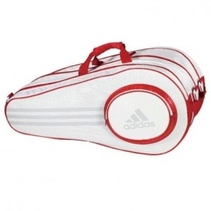 adidas Pro Line White Triple Thermo Sports Bag