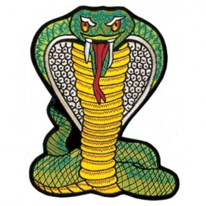 Cobra Martial Arts Patch 4""