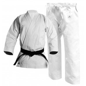 adidas Karate Kata Gi, 12oz American Cut Uniform