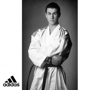 adidas Karate Kata Gi, 12oz American Cut Uniform