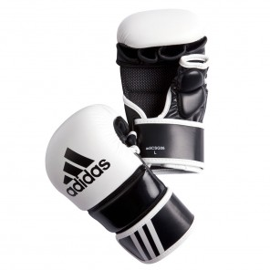 adidas MMA Free Fight Leather Gloves