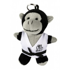 Plush Martial Arts Gorilla Keychain