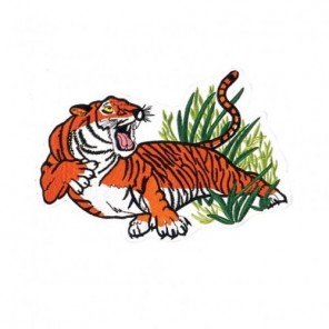 Growling Tiger Martial Arts Patch 10""