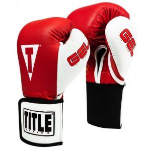 TITLE GEL World Elastic Training Gloves