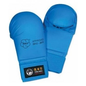 Tokaido Karate WKF Mitts, Blue 2012-2015