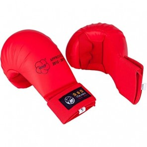 Tokaido Karate WKF Mitts, Red 2012-2015