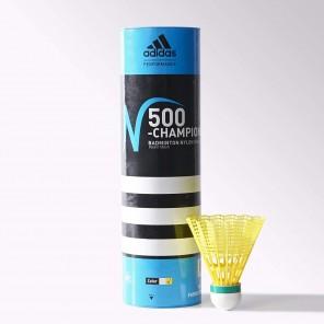 adidas N500 Nylon Shuttlecock, Yellow