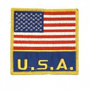 USA Flag Martial Arts All Purpose Patch