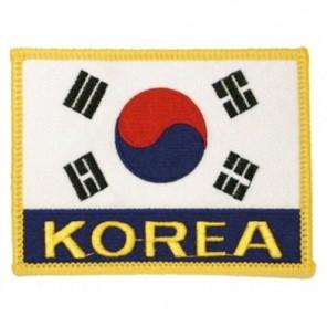 Korea Flag Martial Arts All Purpose Patch