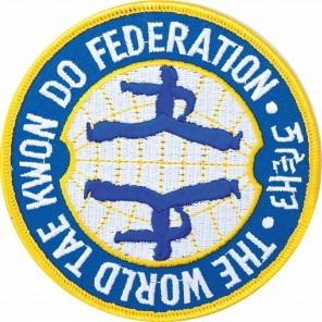 World Taekwondo Federation Martial Arts Patch