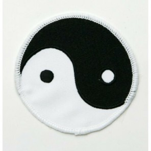 Ying Yang Martial Arts Patch