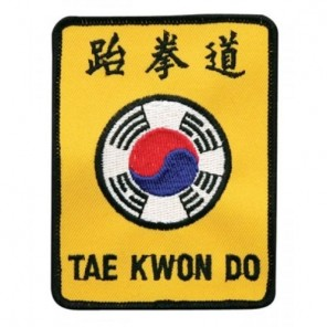Taekwondo Korea Martial Arts Patch