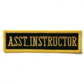 Assistant Instructor Martial Arts Patch