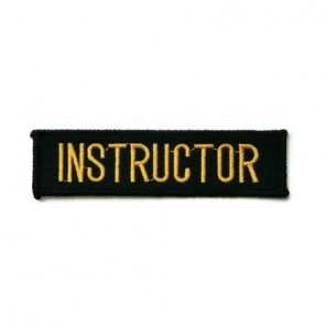 Instructor Martial Arts Patch