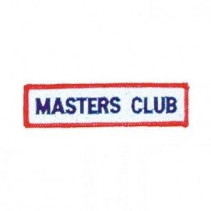 Masters Club Martial Arts Patch
