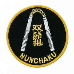 Nunchucks Martial Arts Patch