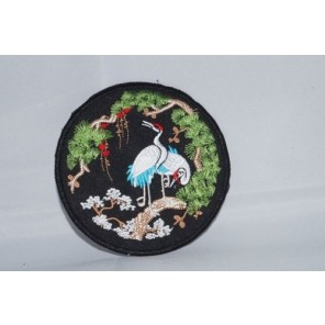 Balancing Crane Martial Arts Patch