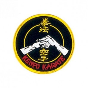 Kenpo Karate Fist Martial Arts Patch