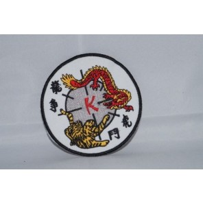 Kenpo Tiger Martial Arts Patch