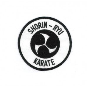 Shorin-Ryu Karate Martial Arts Patch