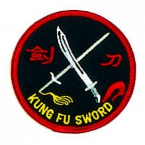 Kung Fu Double Sword Martial Arts Patch