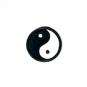 Ying Yang Small Martial Arts Patch