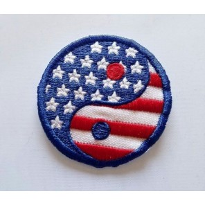 Ying Yang USA Martial Arts Patch