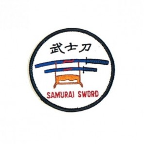 Samurai Sword Martial Arts Patch