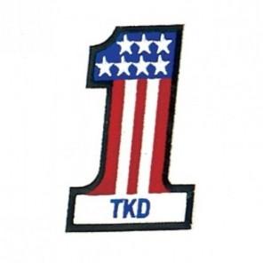 USA Taekwondo Martial Arts Patch