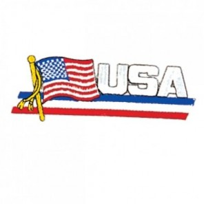 USA American Flag Martial Arts Patch