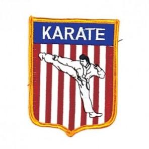USA Karate Martial Arts Patch