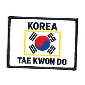 Taekwondo Korea Martial Arts Patch