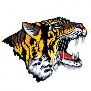 Tiger Martial Arts Patch 10""