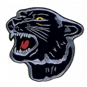 Panther Martial Arts Patch 4""