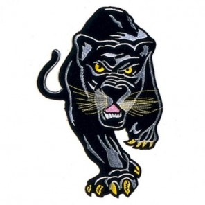 Stalking Panther Martial Arts Patch