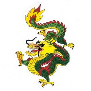Dragon Martial Arts Patch 12""