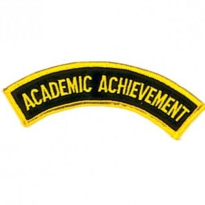 Academic Achievement Martial Arts Patch