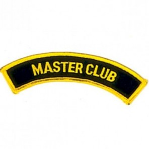Master Club Martial Arts Patch -