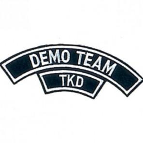 TKD Demo Team Martial Arts Patch