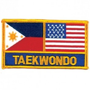 Taekwondo Martial Arts Patch