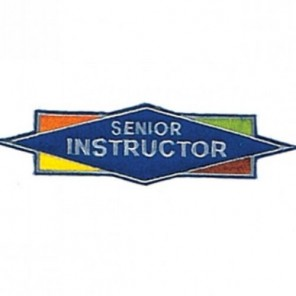Senior Instructor Martial Arts Patch