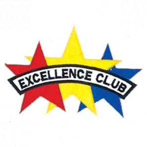 Excellence Club Martial Arts Patch