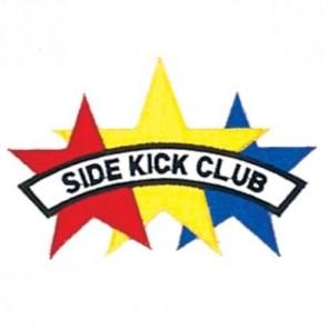 Side Kick Club Club Martial Arts Patch