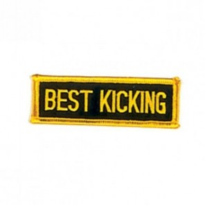 Best Kicking Martial Arts Patch