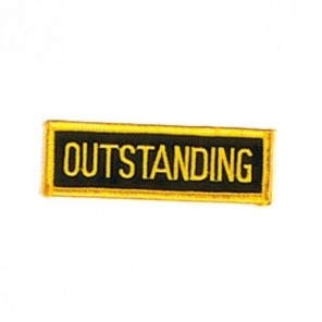 Outstanding Martial Arts Patch