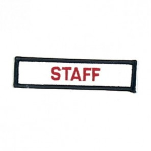 Staff Martial Arts Patch