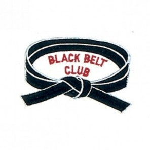 Black Belt Club Martial Arts Patch