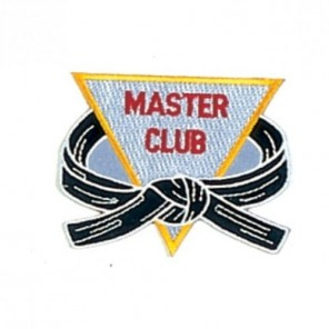 Master Club Martial Arts Patch