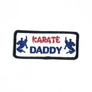 Karate Daddy Martial Arts Patch