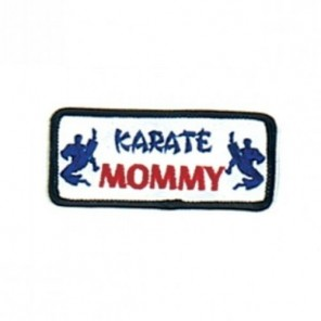 Karate Mommy Martial Arts Patch